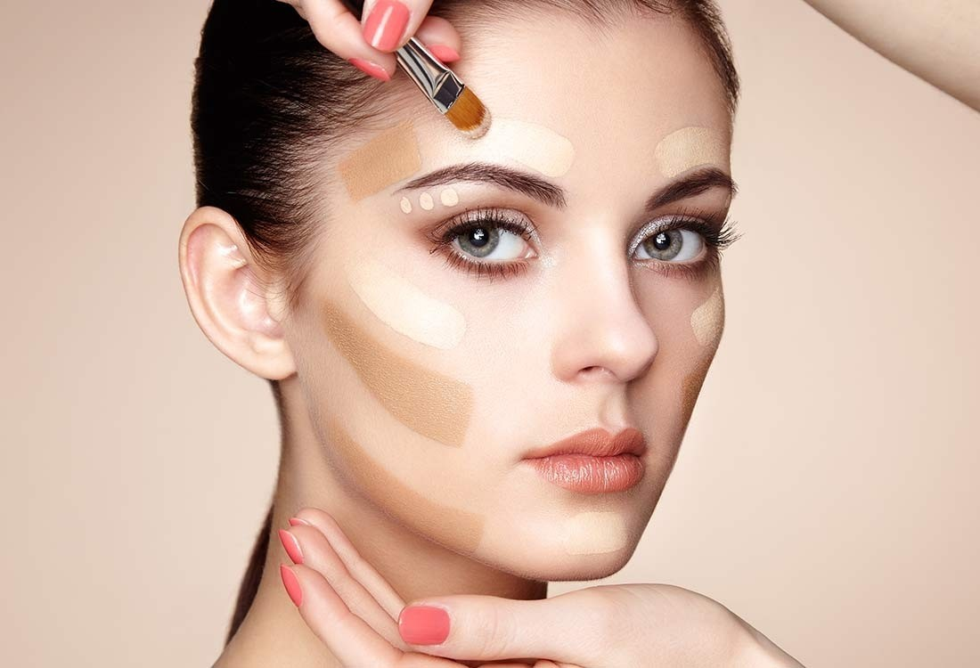 макияж картинки с уроками платье