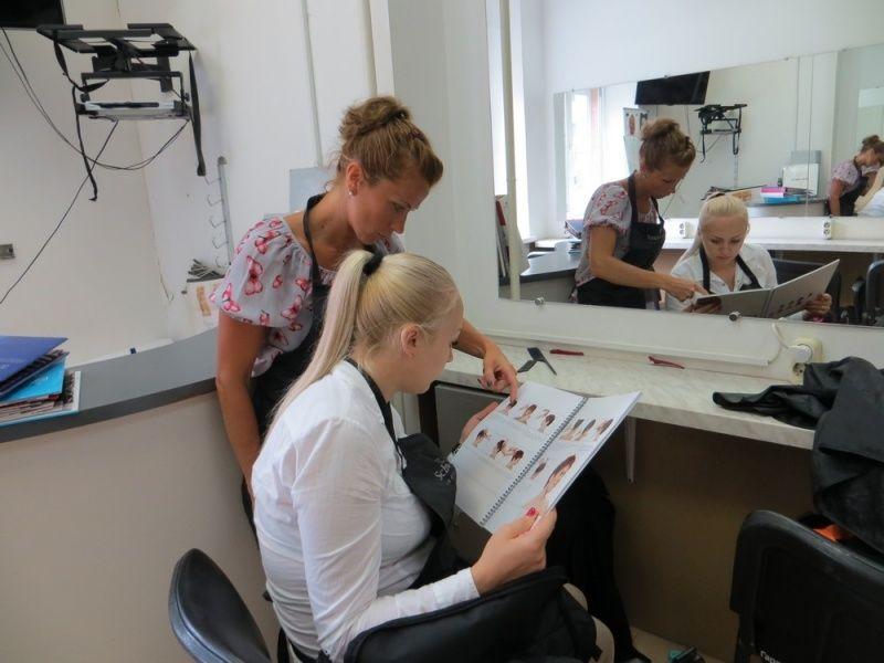 Обучение на моделях и карьера парикмахера